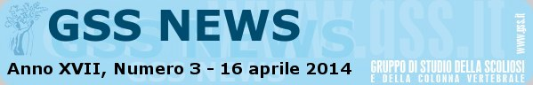 Anno XVII, Numero 3 - 16 aprile 2014