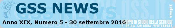 Anno XIX, Numero 5 - 30 settembre 2016