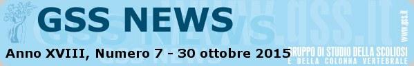 Anno XVIII, Numero 7 - 30 ottobre 2015