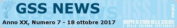 Anno XX, Numero 7 - 18 ottobre 2017