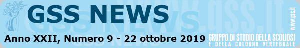 Anno XXII, Numero 9 - 22 ottobre 2019