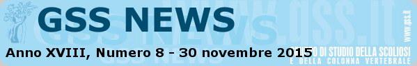 Anno XVIII, Numero 8 - 30 novembre 2015