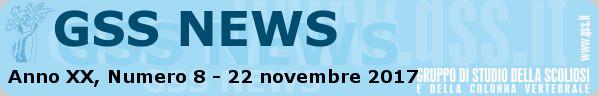 Anno XX, Numero 8 - 22 novembre 2017